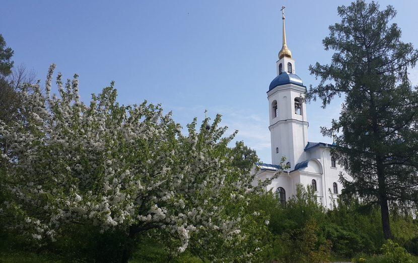 Праздник Святой Троицы в Череменецком монастыре