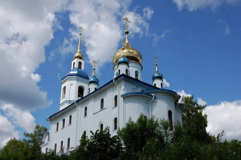 праздничная литургия в Череменецком монастыре